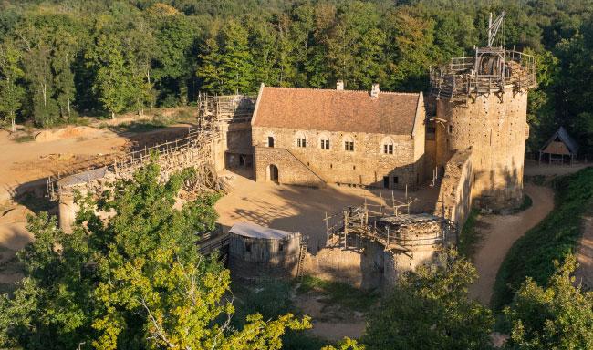 L'Âge d'or des châteaux fort